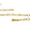 Fantázia arany nyaklánc