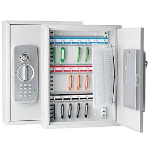 WEDO Zárható kulcszerkrény elektromos zárral, 21 db-os WEDO