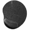 Gembird A4-Tech-Gembird MP-GEL-BLACK zselés csuklótámaszos fekete egérpad