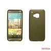 CELLECT HTC A9 vékony szilikon hátlap,Fekete