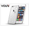 Vouni Apple iPhone 6 Plus/6S Plus hátlap kristály díszitéssel - Vouni Crystal Star - silver