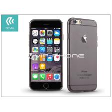 Devia Apple iPhone 6 Plus/6S Plus szilikon hátlap - Devia Naked - smoky black tok és táska