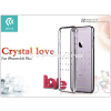 Devia Apple iPhone 6/6S hátlap Swarovski kristály díszitéssel - Devia Crystal Love - gun black