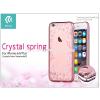 Devia Apple iPhone 6/6S hátlap Swarovski kristály díszitéssel - Devia Crystal Spring - rose gold