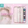 Devia Apple iPhone 6/6S hátlap Swarovski kristály díszitéssel - Devia Crystal Garland - rose gold
