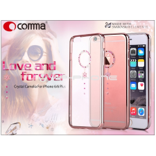 Comma Apple iPhone 6/6S hátlap Swarovski kristály díszitéssel - Comma Crystal Camelia- red diamond tok és táska