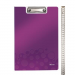 Leitz Clipboard with a cover: Leitz WOW  violet 4002432106738