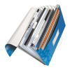 Leitz Project file with 6 expanding compartments: PP Leitz WOW  green 4002432106042