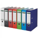 Leitz Binder: Leitz A4 with 180° mechanism  width: 80 mm  blue 4002432316984