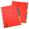 ESSELTE Printable indexes:  coloured cardboard without a table of content A4  5 indexes 5902812001990