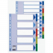 ESSELTE Printable indexes: plastic PP Esselte A4 maxi 5 colours 5902812152661