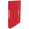 ESSELTE Project file with expanding compartments: Esselte Vivida  red 4049793028385