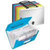 ESSELTE Project file with expanding compartments and a handle: Esselte Vivida  blue 4049793028446