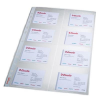 ESSELTE Business card sleeves A4 (10 pcs/plastic pckg) 5701216789301