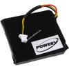 Powery Utángyártott akku Logitech típus 533-000074