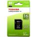 MemoryCard microSD Toshiba 16GB