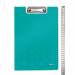 Leitz Clipboard with a cover: Leitz WOW turquoise 4002432106721