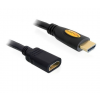 DELOCK Cable High Speed HDMI with Ethernet extension male / female 5m (83082)