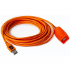Tether Tools TetherPro USB 2.0 Active Extension, 49, Hi-Visibility ORG