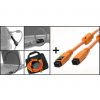 Tether Tools Starter Tethering Kit w/ FireWire 800 - 9 to 9 Pin ORG