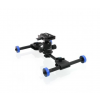 Foton - accessories MOOVIE PRO M (SWF PRO M ) - mini dolly for cameras and camcorders - with PRO head and Manfrotto...