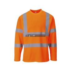 Portwest S278 Hi-Vis jól láthatósági hosszú ujjú pólóing