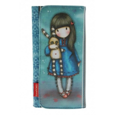 Santoro Gorjuss, pénztárca 19x10cm, Hush Little Bunny