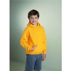 GILDAN Gildan kapucnis gyerekpulóver, gold