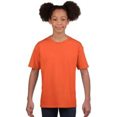 GILDAN Softstyle Gildan gyerekpóló, narancs