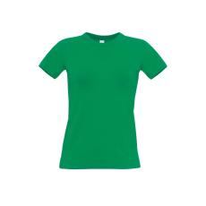 B&C B&C r. ujjú Női pamut póló, kelly green
