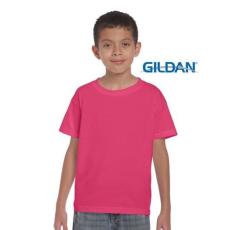 GILDAN Softstyle Gildan gyerekpóló, heliconia