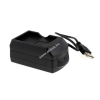 Powery Akkutöltő USB-s Olympus BLS-1