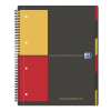 Oxford SPIRAL NOTEBOOK: WITH A FOLDER ORGANISERBOOK A4+ 80 PAGES GRAPH PAPER PP OXFORD  3020120018010