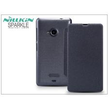 Nillkin Microsoft Lumia 535 oldalra nyíló flipes tok - Nillkin Sparkle - fekete tok és táska
