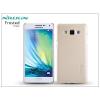 Nillkin Samsung SM-A500F Galaxy A5 hátlap képernyővédő fóliával - Nillkin Frosted Shield - golden