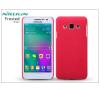 Nillkin Samsung SM-A300F Galaxy A3 hátlap képernyővédő fóliával - Nillkin Frosted Shield - piros tok és táska