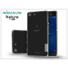 Nillkin Sony Xperia M5 (E5603/E5606/E5653) szilikon hátlap - Nillkin Nature - transparent