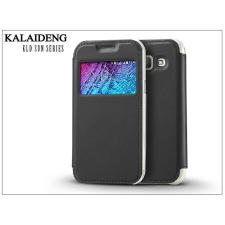Kalaideng Samsung SM-J100 Galaxy J1 flipes tok - Kalaideng Sun Series View Cover - black tok és táska
