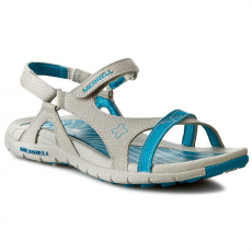 Szandál MERRELL - Lissum Lattice J196393C Silver/Blue
