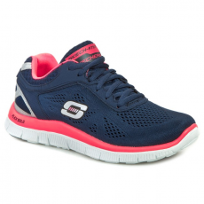 Félcipő SKECHERS - Love Your Style 11728/NVHP Navy/Hot Pink