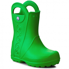 Gumicsizmák CROCS - Handle It Rain Boot Kids 12803 Grass Green