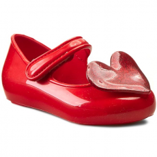 Félcipő MEL BY MELISSA - Mel Cool Baby Sp BB 31546 Red/Giltter 52803