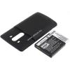 Powery Utángyártott akku LG LS990 fekete 6000mAh