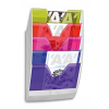 CEP Wall Mounted Files CEP ReCaption  5 pockets  assorted colours 3462151548102