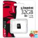 Kingston 32GB G2 UHS-I microSDHC memóriakártya,C10