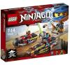 LEGO Ninjago Nindzsa motoros hajsza 70600 lego