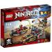 LEGO Ninjago Nindzsa motoros hajsza 70600