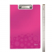 Leitz Clipboard with a cover: Leitz WOW pink 4002432106691