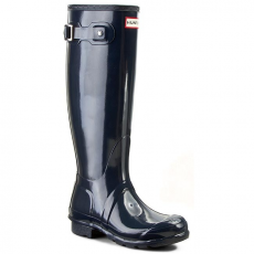 Hunter Gumicsizmák HUNTER - Original Tall Gloss W23616 Navy