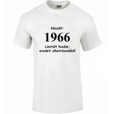 Tréfás póló 50 éves, Készült 1966...   (XXL)